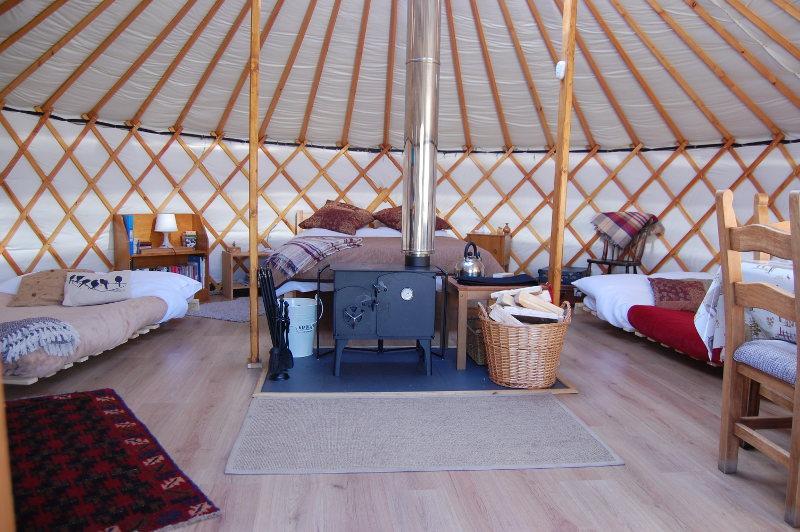 Runach Arainn Our Yurts Yurt Glamping On The Isle Of